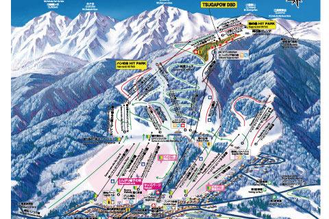 鹿島 槍 スキー 場